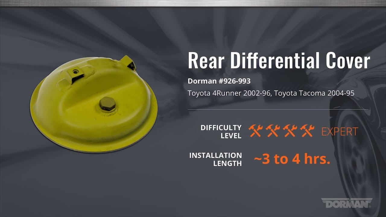 Differential Cover | 926-993 | Rear Differential Cover | Dorman Products