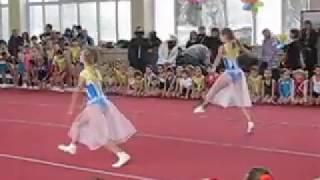 Танец на празднике ГК ДЮСШ  ( 22 декабря 2013)