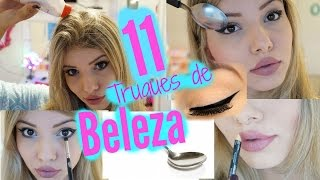 11 Truques de Beleza que TODA garota deve saber!!