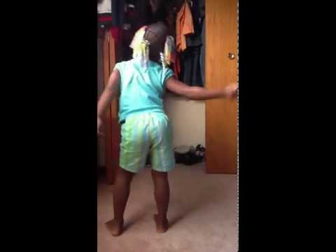 Cousin Dancing to Clap Them Thighs