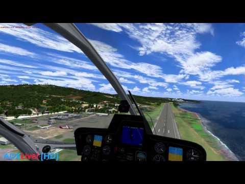 ADX LiveLook: TropicalSim Martinique & LatinVFR Roatan.