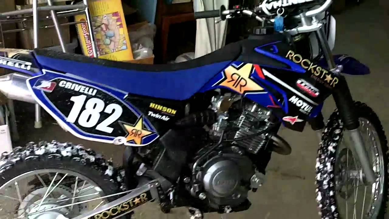 Yamaha ttr 125 fmf powercore 4 exhaust youtube
