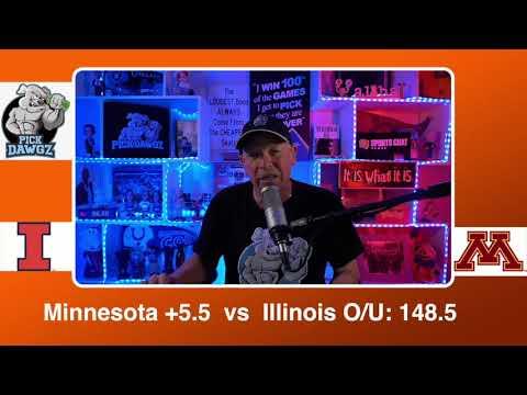 Minnesota vs Illinois 2/20/21 Free College Basketball Pick and Prediction CBB Betting Tips