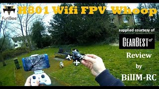 Furibee H801 720p WiFi FPV Whoop Quadcopter review