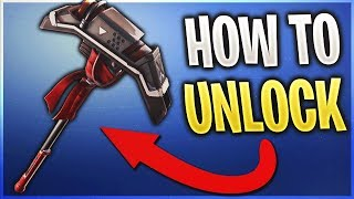 *NEW* How To Get The AIM PICKAXE FREE In Fortnite! Hunting Party Pickaxe! (New Secret Pickaxe)