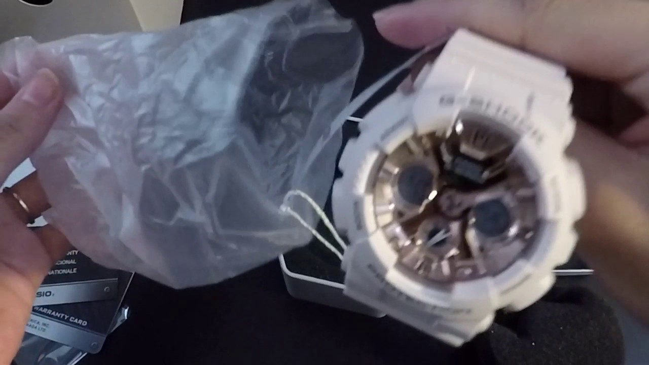 9e2ca596afb5 Unboxing G-shock S Series GMAS120MF-4A - YouTube