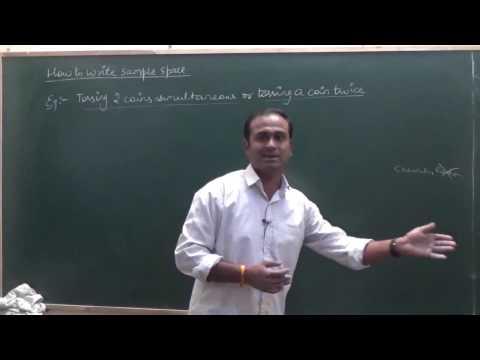 Random Experiment & Sample space | Probability CBSE 11 Maths NCERT Ex 16.1 intro