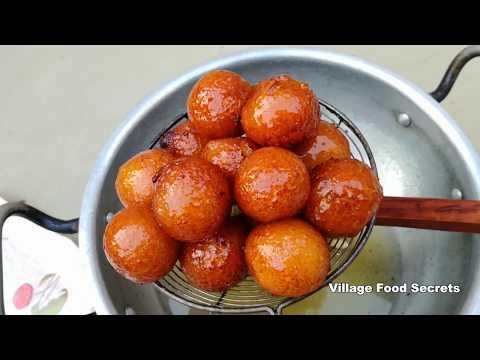 Gulab Jamun Recipe | Gulab Jamun dessert | Village Food Secrets