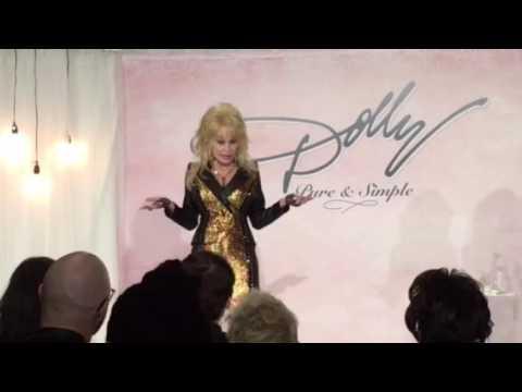 "Dolly Parton ""Pure & Simple Press Conference"