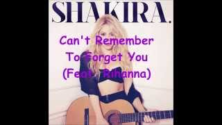 Can't remember to forget you (feat. rihanna) (speed up)