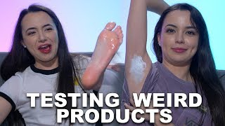 Testing Weird Products - Merrell Twins