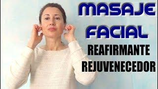 MASAJE FACIAL ANTIARRUGAS Y ANTIFLACIDEZ | Masaje rejuvenecedor 5 minutos