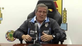 Uruguay comenzó su preparación para la Copa América 2015