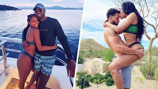 When NBA stars have fun with their girlfriends