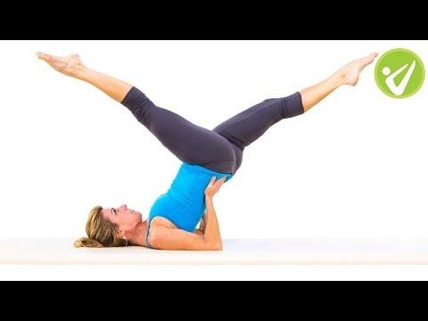 Scissors Pilates Exercise Meredith Rogers