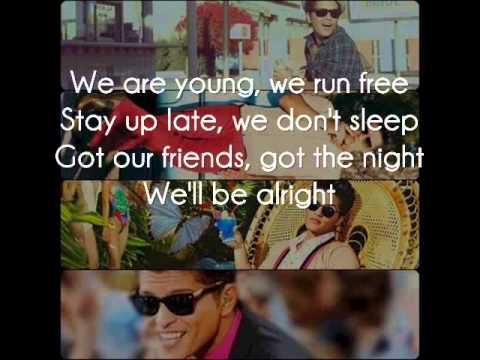Bruno Mars - We'll be alright - Lyrics