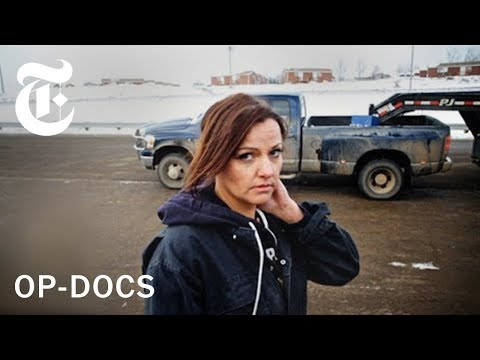 'In the Land of Hell': Life as a Female Trucker in North Dak