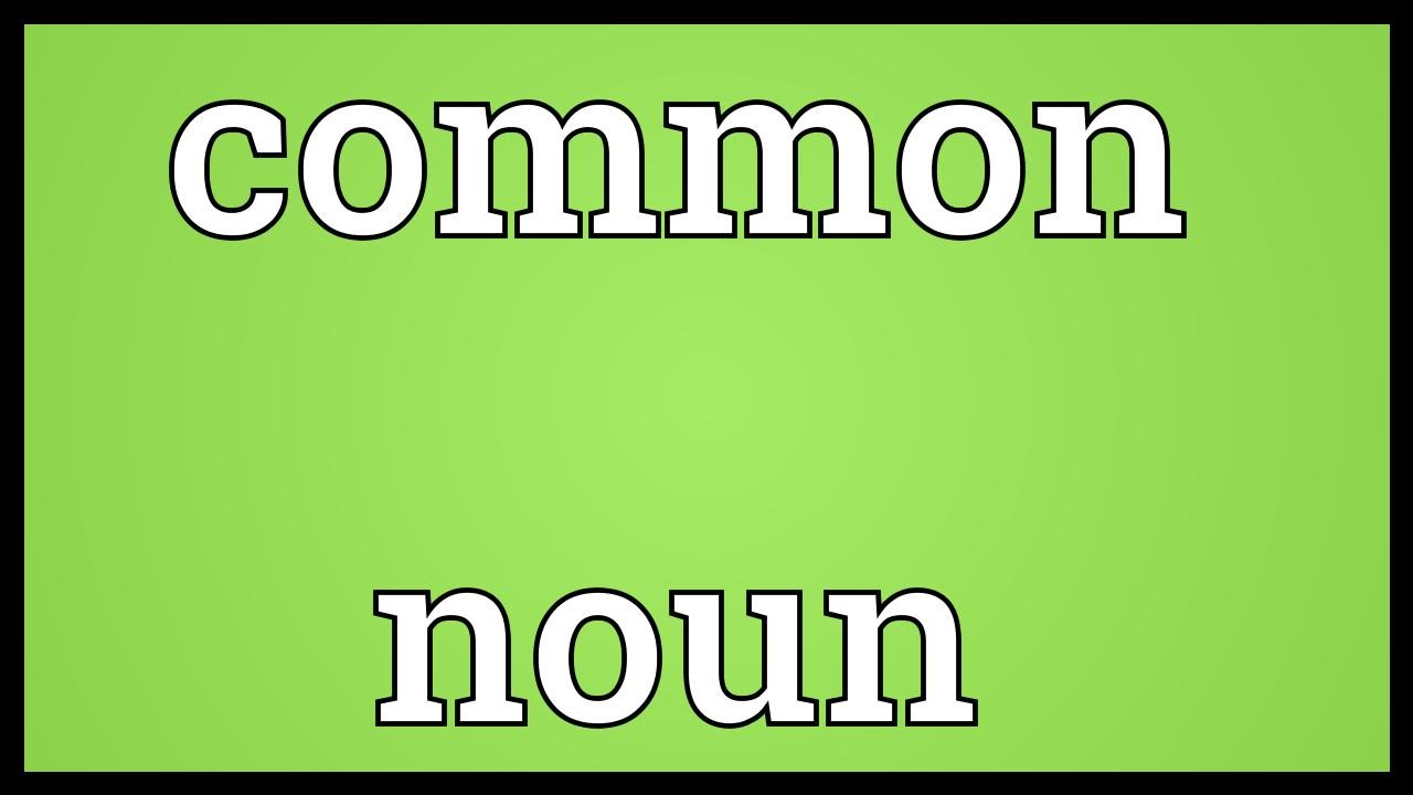 Common noun meaning youtube - What is the meaning of commode ...