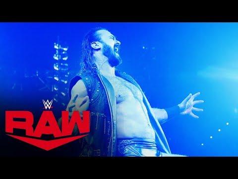 Drew McIntyre Chooses To Face Brock Lesnar At WrestleMania: Raw, Jan. 27, 2020