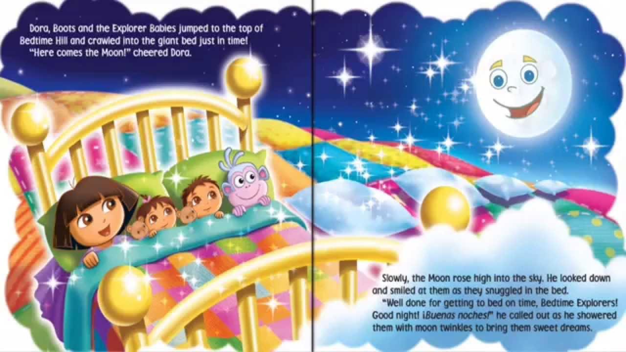 Dora the Explorer - Bedtime Explorer- KidsChannelTV