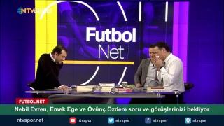 Nebil Evren, Emek Ege ve Övünç Özdem Futbol Net canlı yayınında görüşlerinizi bekliyor