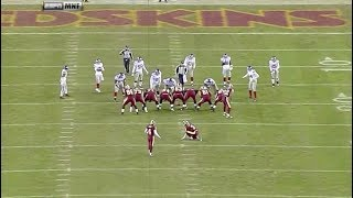 The Worst Field Goal in NFL History