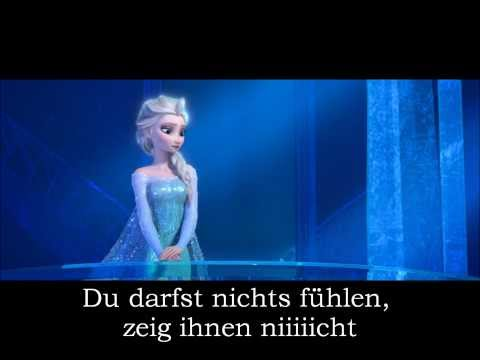 (GERMAN) Frozen- Let it go | Cover by Julia Koep | LYRICS