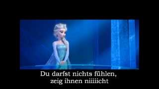 (GERMAN) Frozen- Let it go | Cover by DrunkenSch0k0muffin | LYRICS