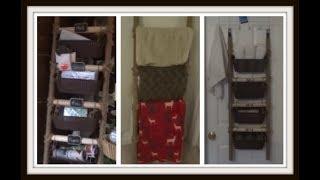Farmhouse Ladder DIY Continued...😍(All Dollar Tree)