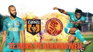 SE DONS vs KENNINGWELL | PPC CUP QUARTER FINAL | Sunday League Football
