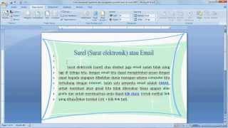 Belajar Microsoft Word 2007 Cara Membuat Hyperlink Dan Mengetahui Jumlah Baris Youtube