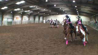 Royal Express Equestrian Drill Team Short Program 1st Place at Eastside Roundup 2010