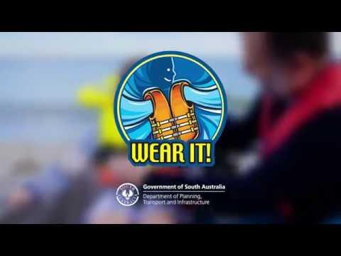 Marine safety - wear your life jacket