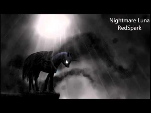 Nightmare Luna - Original Piece by RedSpark