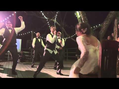 BOYBAND WEDDING DANCE - NYSNC, JESSIE MCCARTNEY, BEYONCE, AND MORE!