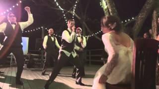 BOYBAND WEDDING DANCE  NYSNC, JESSIE MCCARTNEY, BEYONCE, AND MORE!