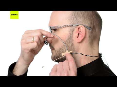 d:fine In-Ear Broadcast Headset Microphone instruction video