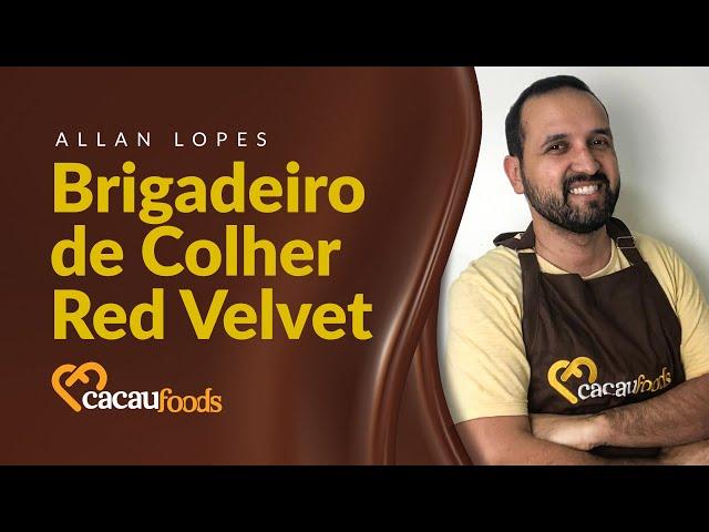 Brigadeiro de Colher Red Velvet | Cacau Foods