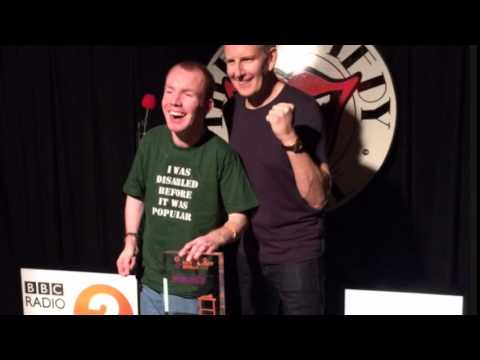 Lost Voice Guy wins BBC New Comedy Award 2014 (set and ...