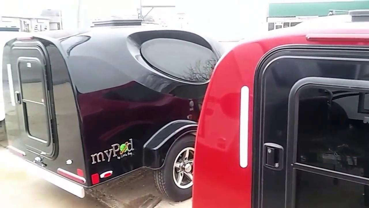 Little Guy Mypod >> 2017 Mypod By Little Guy Mini Travel Trailer