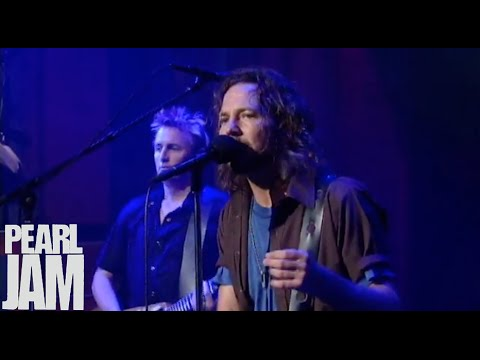 Present Tense - Late Show With David Letterman - Pearl Jam