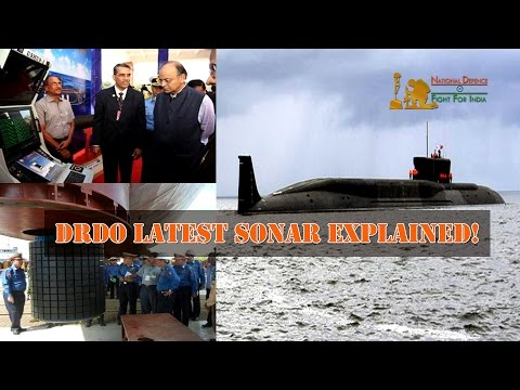 DRDO Latest Submarine & Ship Sonar Systems Explained By Top DRDO Scientist