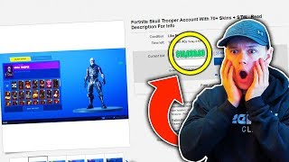 I Found the WORLD's MOST EXPENSIVE FORTNITE ACCOUNT.... (Fortnite: Battle Royale)
