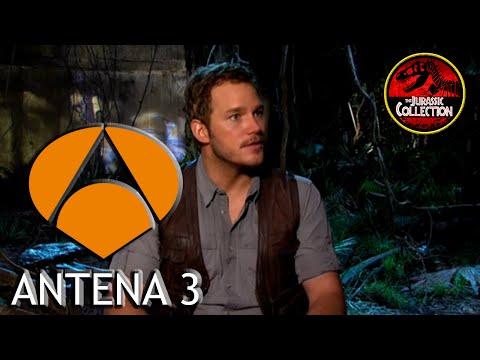 Jurassic World | Antena 3 | Interview Behind the Scenes