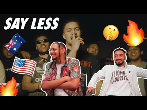 Americans react to Australian Rapper *Lisi Say Less Official Video*