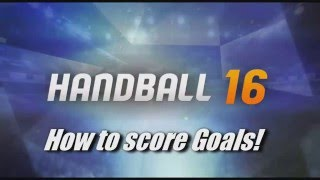 Handball 16 - How to score goals and unlock the spin shot trophy