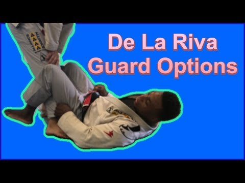 Organizing your De la Riva guard attacks