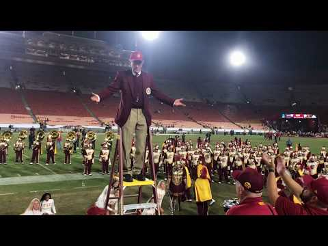 USC Trojan Marching Band Postgame Show USC vs UCLA 2017