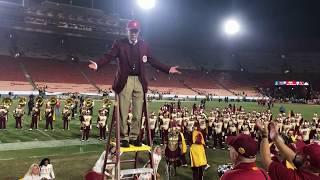 USC Trojan Marching Band Postgame Show USC vs UCLA 2017