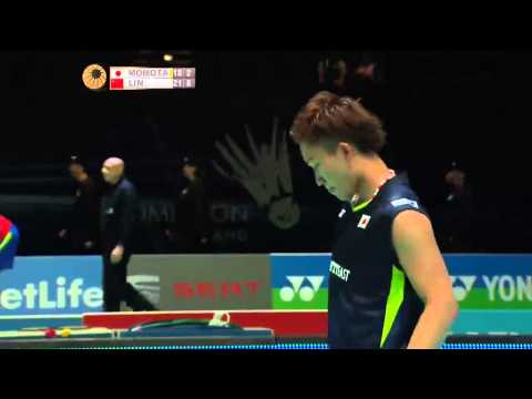 Kento Momota vs Lin Dan | MS QF Match 2 - Yonex All England Open 2015